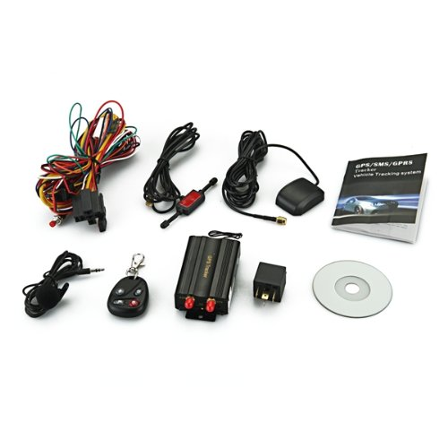 Promotion! TK103B Cars Auto GSM/ GPRS/ GPS Device Locator Alarm Tracker Set + Remote Control