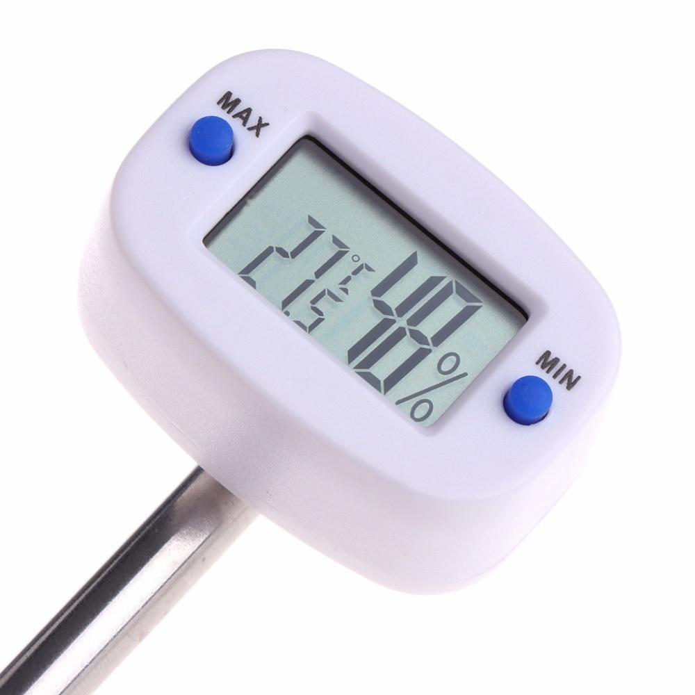 Digital Soil Tester Meter Temperature Humidity Monitor For Garden Lawn Plant Pot Measure Tools