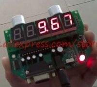 Ultrasonic distance measuring module / range finder / sensor 10 meters serial port RS232 5 bit LED real time display