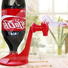 Mini Upside Down Drinking Fountains coca Cola bottle Beverage Switch Drinkers Hand Pressure soft drink Dispenser Abs kitchen bar
