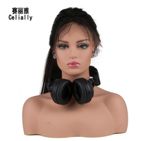 New Arrival Female Realistic Plastic Mannequin Head Bust Sale For Wig Jewelry And Hat Display
