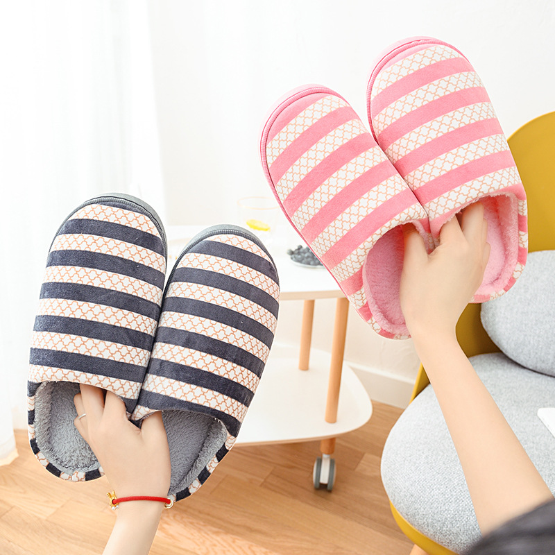Cotton Slippers For Couples In Autumn And Winter