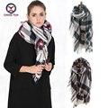 2016 European Fashion colorful striped women imitate cashmere Winter big shawls Scarf ladies scarves women's big wraps Z1667