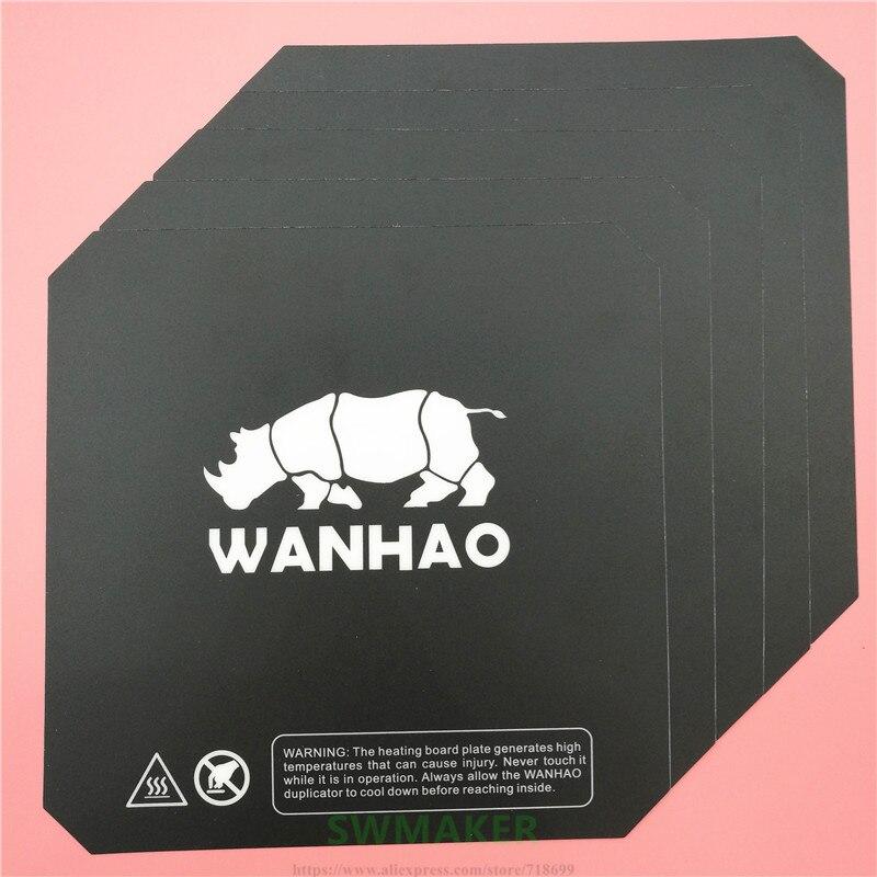 10 stks Wanhao i3 3D printer onderdelen afdrukken verwarmde bed sticker vergelijkbaar met Buildtak prusa i3 verwarmde plaat 200 mm/214mm/220mm-in 3D Printer Onderdelen & Accessoires van Computer & Kantoor op AliExpress - 11.11_Dubbel 11Vrijgezellendag 1