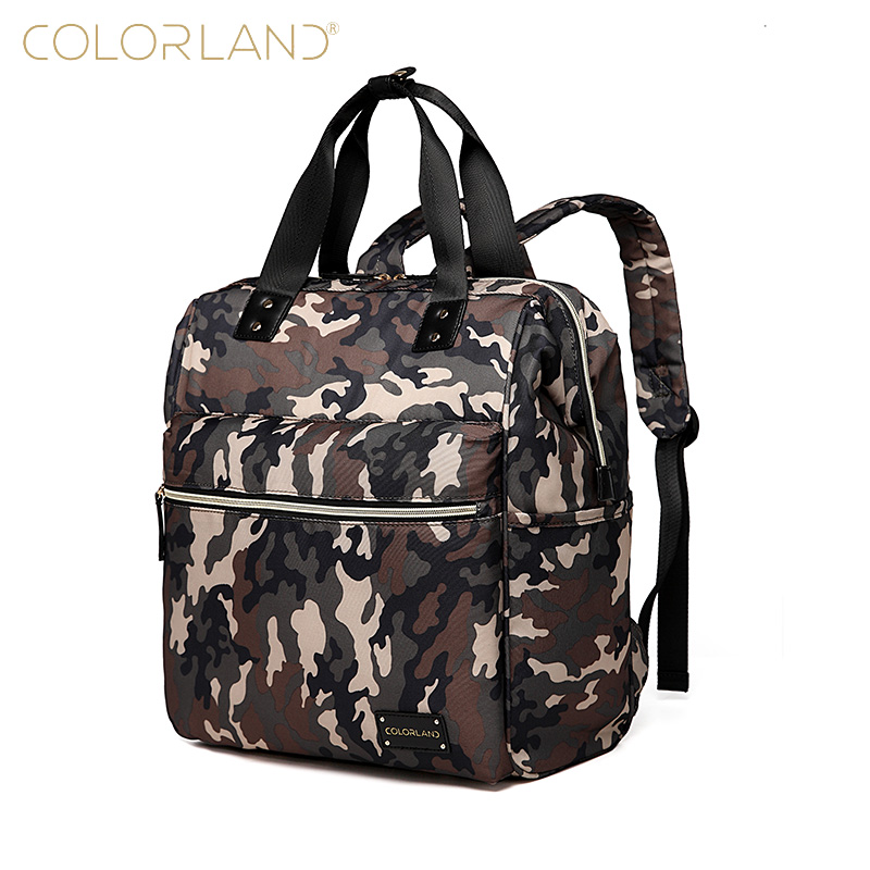Baby Care Bag Diaper Backpack Camo Changing Organizer Mummy Designer Land Bag Nappy Maternity Bags for Mother and Dad Travel baby dining lunch feeding booster seat maternity baby diaper nappy bag multifunction fashion hobos messenger bags for baby care