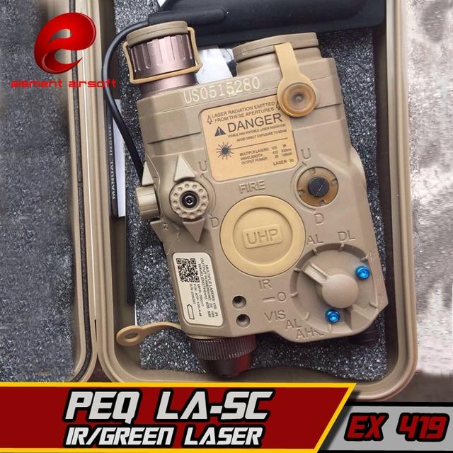 要素airsof lazer LA 5C peq 15 uhp irグリーンレーザー懐中電灯softair戦術エアガンライフル銃武器狩猟