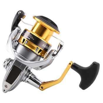 Original Shimano SEDONA FI 1000 2500 C3000 C3000HG 4000XG C5000XG Spinning Fishing Reel Deep Cup 4BB Hagane Gear Saltwater