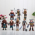 NOVO 8 pçs/set 10-13 cm Dragão Mestres Figuras PVC Figuras de Ação Brinquedos Clássico Modelo Figuras Dolls Caçoa o Presente brinquedos WJ432