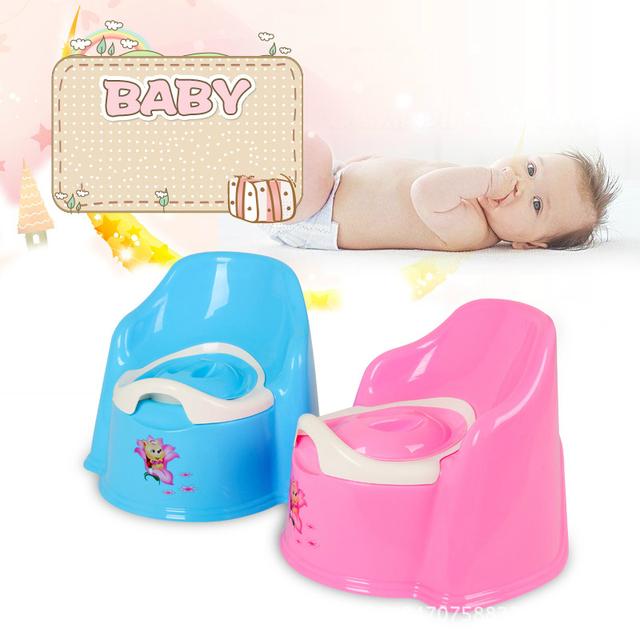2016 Nuevo Bebé Orinal Asiento Taburete Multifuncional Niños Infantiles Inodoro Portátil de Plástico Kids Asiento de Inodoro A Prueba de Fugas de Alta Capacidad