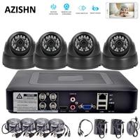 HD 4CH Security System 1080P HDMI AHD DVR 4PCS 720P 1080P AHD Cameras 24IR DOME