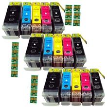 Get more info on the 15PK PGI-5 CLI-8 Compatible ink cartridge For canon iX4000 ix5000 MX700 MX850 MP500 MP510 MP520 MP530 MP600 printer ink with Chi