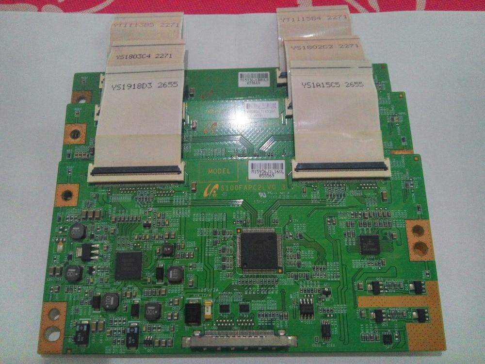 LCD Board S100FAPC2LV0.3 Logic board for connect with LTF460HN01 LTF400HM03 LTA460HM05/3 T-CON connect boardLCD Board S100FAPC2LV0.3 Logic board for connect with LTF460HN01 LTF400HM03 LTA460HM05/3 T-CON connect board