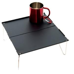 Image 5 - חיצוני מתקפל שולחן עמיד אלומיניום צלחת שולחן נייד קל משקל מיני ריהוט עבור ברביקיו קמפינג פיקניק מסלולי טיולים