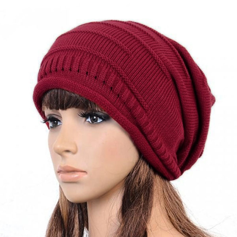 2017 Women Men Winter Hats Warm Knitted Crochet Beanie Cap Beret winter beanie Skullies men Hip-hop Hat 2017 winter women beanie skullies men hiphop hats knitted hat baggy crochet cap bonnets femme en laine homme gorros de lana