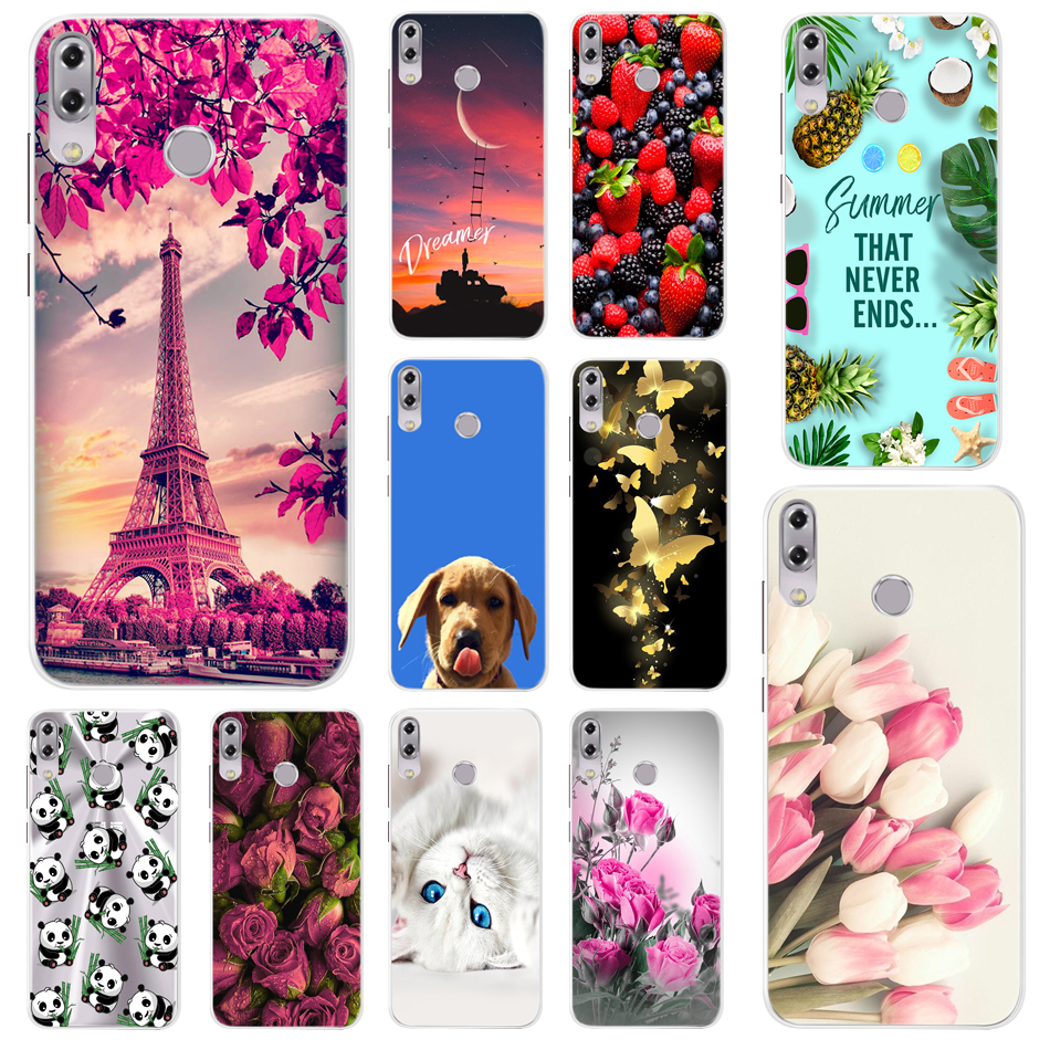 Fashion Design Soft TPU Case For <font><b>Asus</b></font> <font><b>Zenfone</b></font> <font><b>5</b></font> <font><b>ZE620KL</b></font> Soft Silicone Cover Phone Case For <font><b>Asus</b></font> <font><b>Zenfone</b></font> 5Z ZS620KL Zenfone5 2018 image