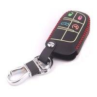 BBQ @ FUKA Fit For Dodge Cherokee Night Glow 4BTN Auto Smart Remote Key Fob Cassa Del Supporto Della Copertura Con Portachiavi KeyChain