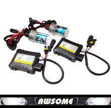 Car Headlight Xenon Hid Kit 35W H1 H3 H7 H8 H11 H9 H11 H13 H16 9005 9006 880 881 Lamp with Silm Ballasts Set Color 3000k~30000K