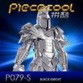 ICONX Piececool Metal 3D Puzzle Juguetes, P079S Caballero Negro Rompecabezas Kids Toy Niños Regalos de Cumpleaños Rompecabezas de DIY 3D Modelo/Brinquedos