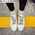 Wikileaks 2016 New Women Casual Canvas Shoes Woman Breathable Candy Color Lace-Up Student Shoes Zapatillas Deportivas Mujer
