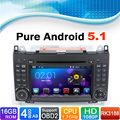 Android 5.1 System, Car DVD Player GPS Navigation System for Mercedes-Benz A Class W169 for Mercedes B Class W245 Viano
