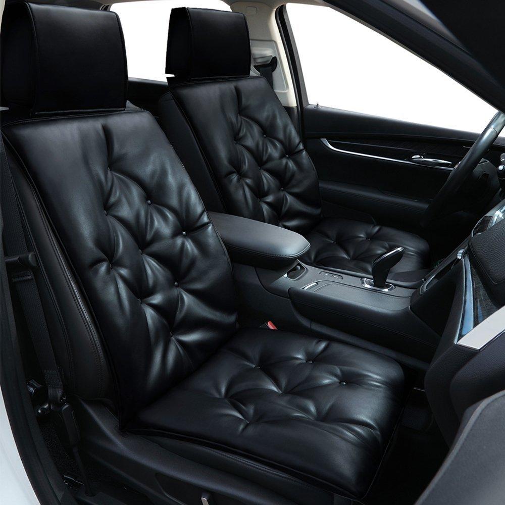 Bigant подушки сиденья автомобиля мягкая кожа автокресло Pad Protector универсальный сиденья мат для авто поставок офисное кресло 1 шт.