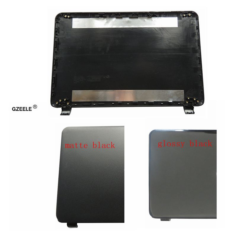 GZEELE NEW Laptop Top LCD Back Cover For HP 15-G 15-R 15-T 15-H 15-Z 15-250 15-R221TX 15-G010DX Rear Case 761695-001 749641-001