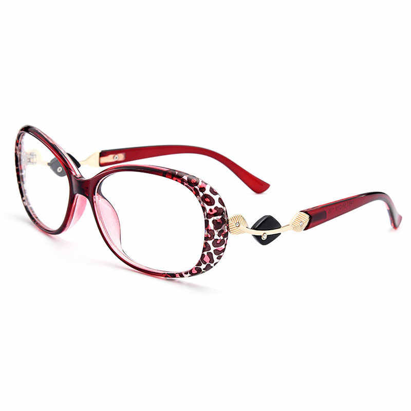 Gmei البصرية أنيق Urltra-Light TR90 كامل حافة النساء إطارات نظارات بصر الإناث البلاستيك قصر النظر الشيخوخي عيون M1481