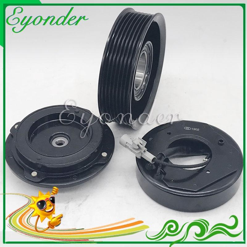 A/C AC 空気 Conditoning コンプレッサー磁気レクサス用電磁クラッチ ES350 2GRFE トヨタシエナ VENZA は 3.5 8832033210 -