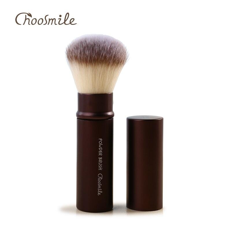 Choosmile Pro Powder Blush Makeup Brush Retractable Face Loose Powder Foundation Cream Air Cosmetic Beauty Make Up Brush Tools