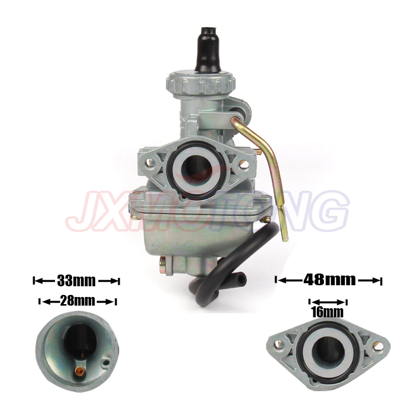 PZ16 16mm <font><b>Carburetor</b></font> For KEIHIN Honda Redcat 50cc <font><b>70cc</b></font> 90cc ATV Quad Mini Bike Dirt Pit bike image