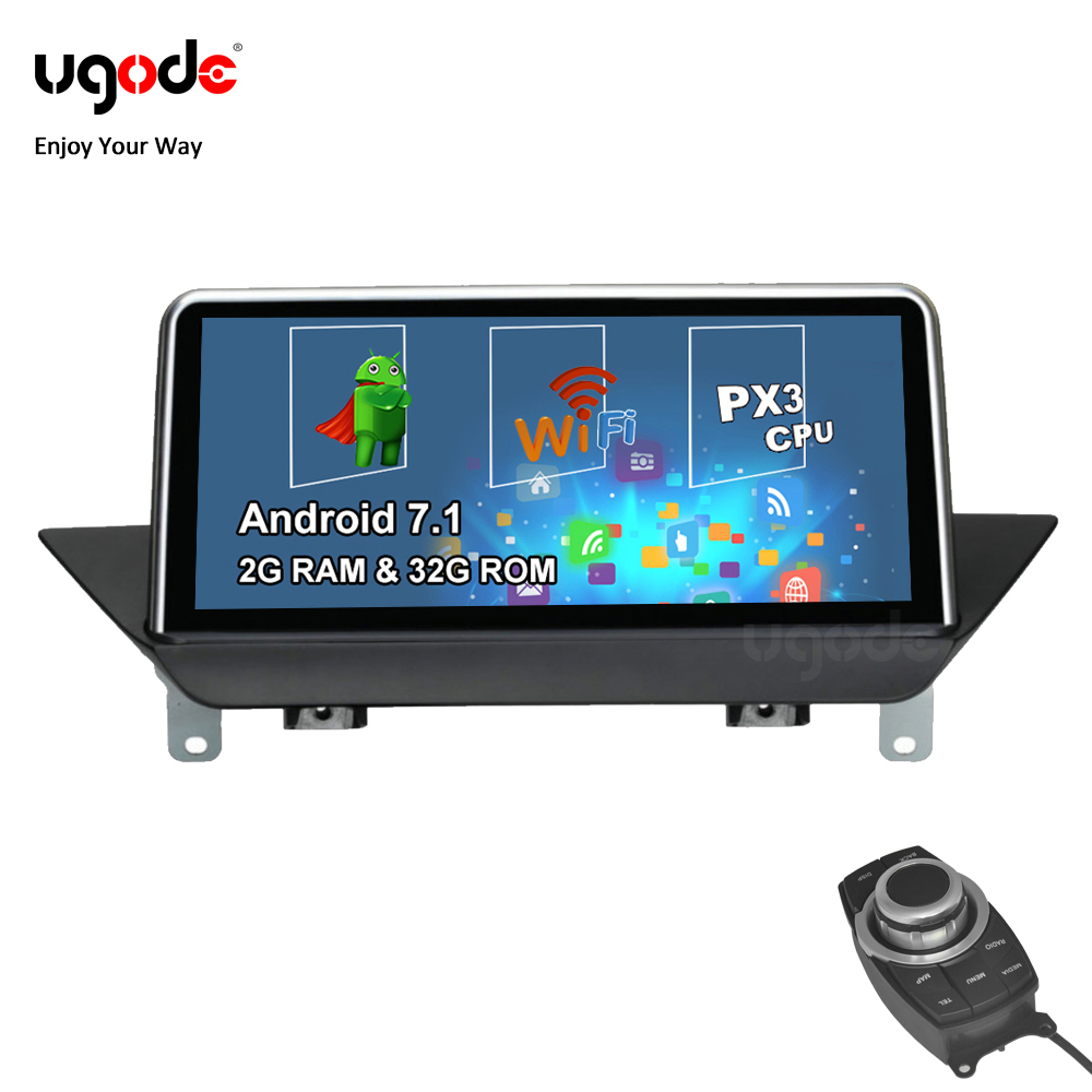 Ugode Android Car Multimedia Player Stereo GPS Navigation for BMW X1 E84 iDrive CIC OS 7.1 System 32G ROM Ready Stock