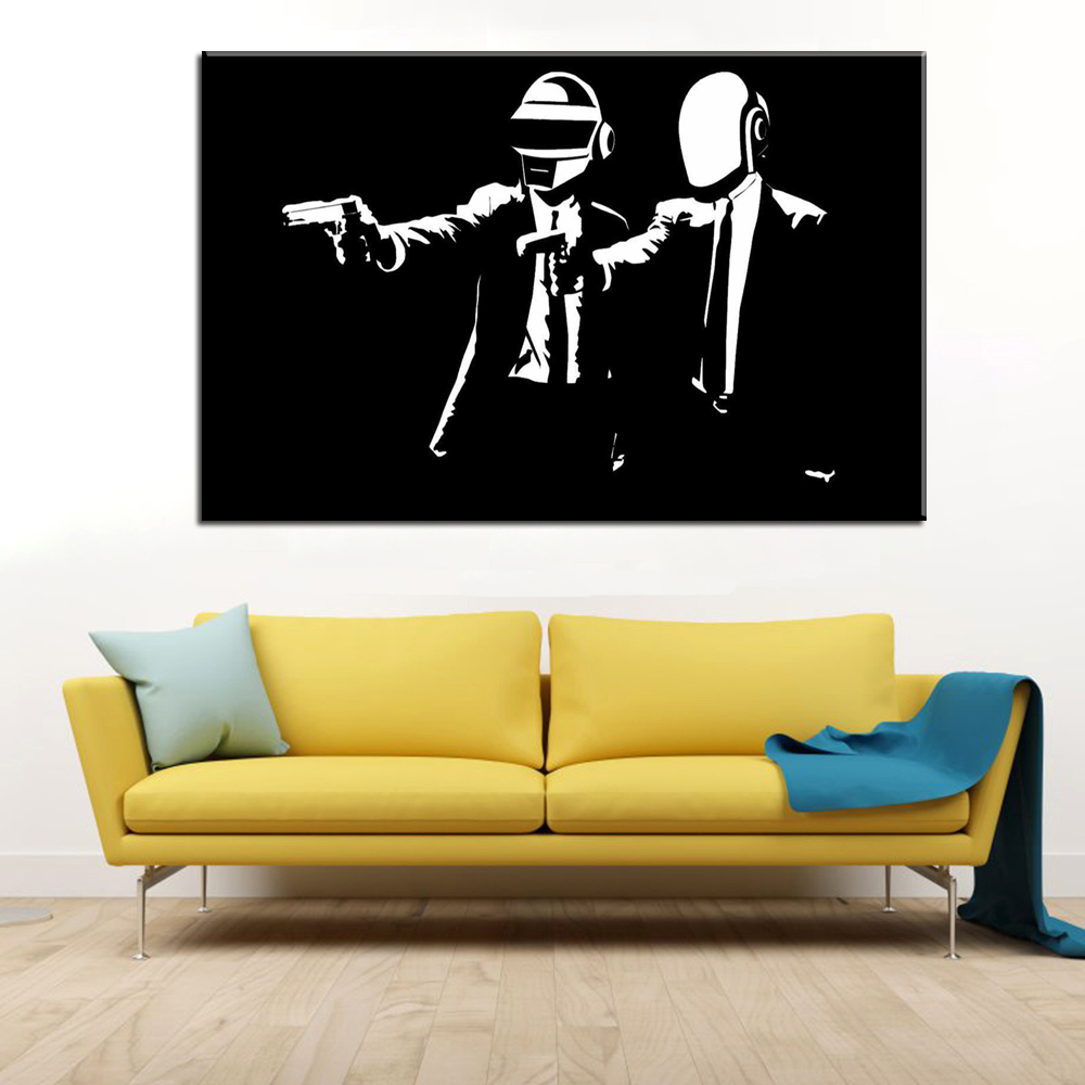 Dorable Banksy Wall Art Stickers Adornment - The Wall Art ...