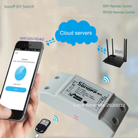 2017 Itead Sonoff Intelligent WiFi Wireless Smart DIY Switch 433Mhz RF For MQTT COAP Android IOS