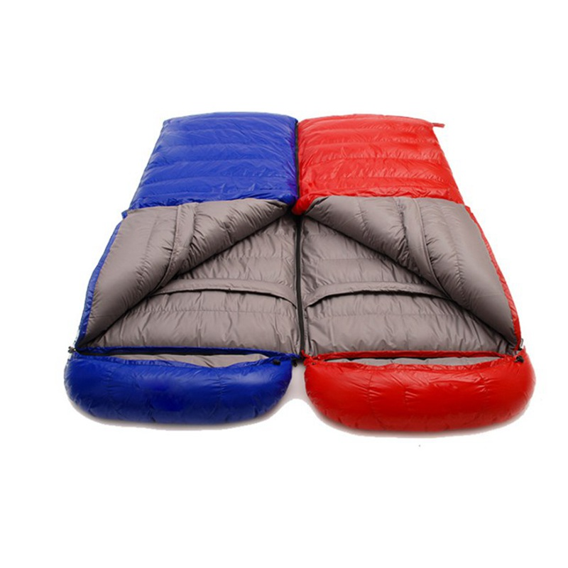 Outdoor Ultralight Eiderdown Sleeping Bag Adult Envelope Type Splicing Single Cotton Lazy Winter Outdoor Camping Sleeping BagOutdoor Ultralight Eiderdown Sleeping Bag Adult Envelope Type Splicing Single Cotton Lazy Winter Outdoor Camping Sleeping Bag