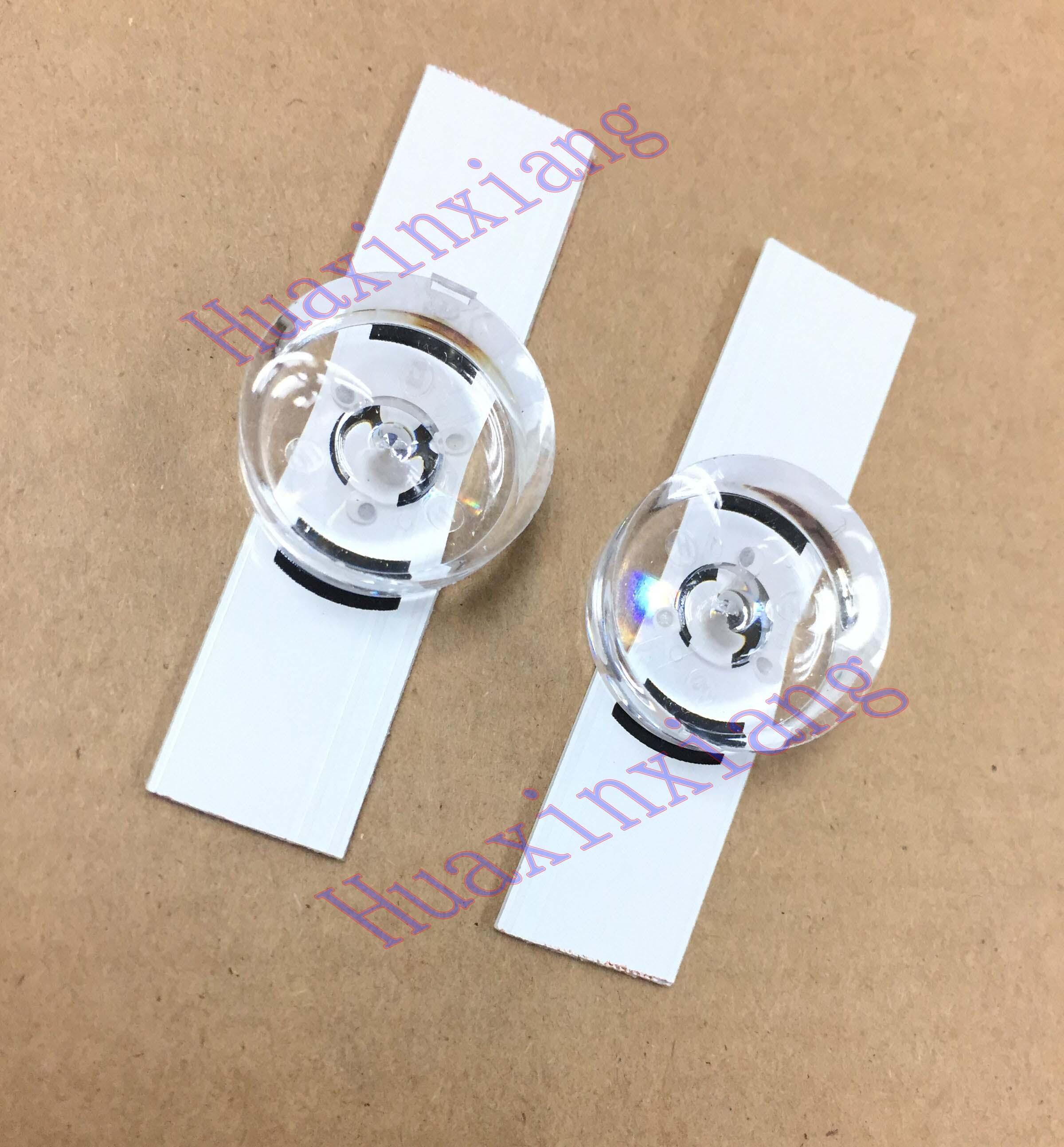 5PCS/Lot 6V Led Strips Bulbs Diodes With Optical Lens For LG Innotek DRT 3.0 32