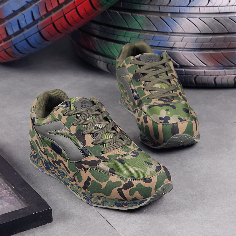 Unisex Sports Lovers Shoes Camouflage Sneakers For Men Women Running Shoes Breathable Outdoor Training Sneakers