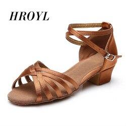Новинка; обувь для латинских танцев; EU24-41 для детей, девочек, детей, женщин; Танцевальная обувь на низком каблуке для женщин; Бесплатная доста...