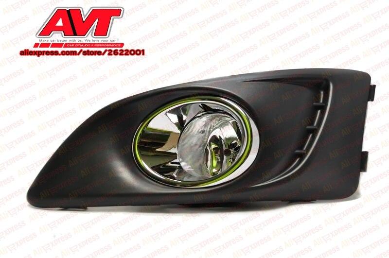 Fog lights for Chevrolet Aveo III 2012- 2 pcs set car accessories styling lights decoration automotive lamp halogen