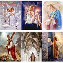 5D Diy Diamond Painting Jesus Crisp Embroidery Religious Square / Round Mosaic Decoration L752