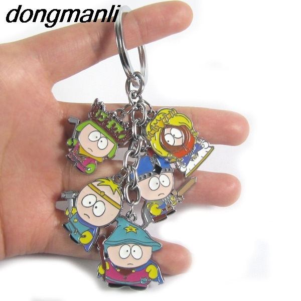 P1659 Dongmanli Anime South Park action figure toys car keychain pendant cartoon