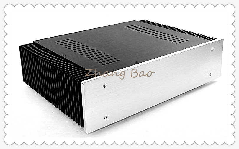 WA61 Amplifier Aluminum Chassis Enclosure Box Case Shell for Audio AMP wa19 aluminum chassis pre amplifier chassis enclosure box 313 425 90mm