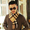 Hot Sale New Autumn Winter Fashion Shawl Europe Scarves Men Couple Warm Cashmere Scarf Scottish Tartan Shawl