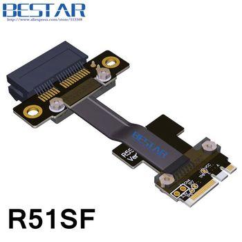 NGFF M.2 Key A+E To PCIe 1x Riser Extender Adapter Card Cable 5cm-80cm Gen3.0 Key A E m2 pci-e For PCI-Express 1x 2x 4x 8x 16x адаптер lenovo system x3550 m5 pcie riser 1 1xlp x16cpu0 00ka061 page 9