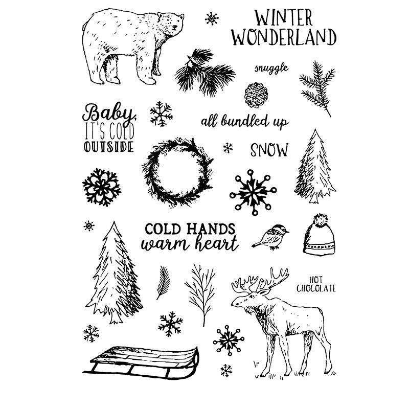 Aliexpress.com : Buy Christmas Season Transparent Clear