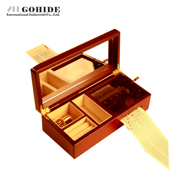 JUH Double Movement 20 Song Paper Tape Compositing Type Music Box