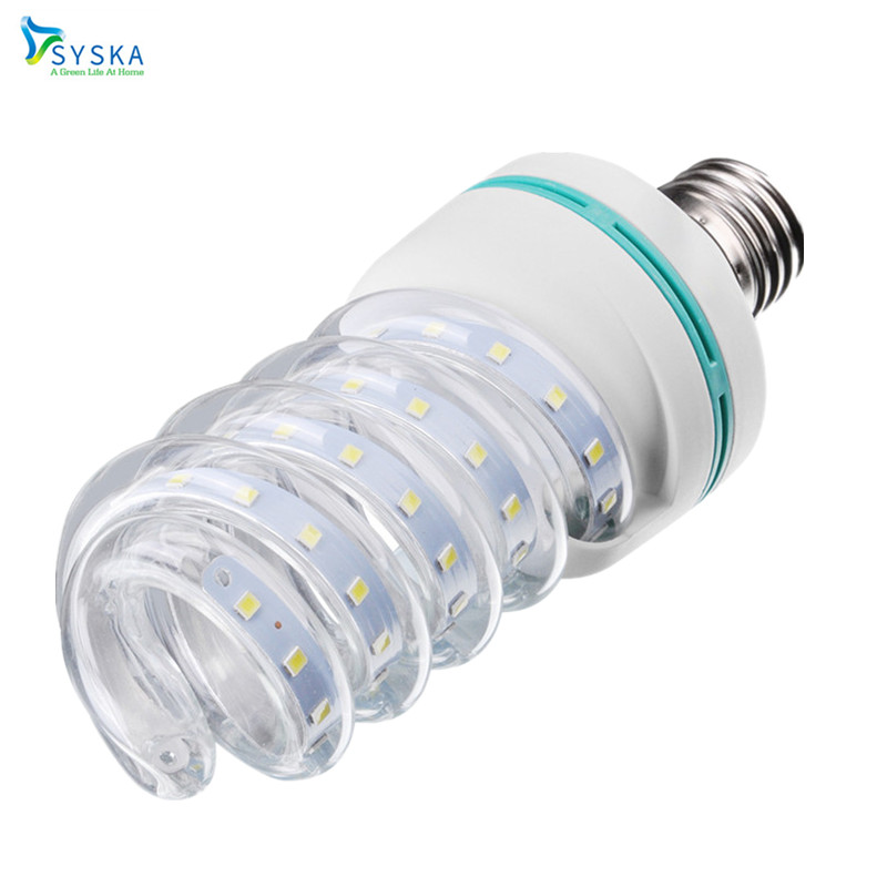 32W Spiral Corn Led Bulb Home Lighting Lamp E27 24W Energy Saving Lamp Lights Bulb 5W 7W 9W 12W SMD 2835 110V 220V|201793 energy efficient 7w e27 3014smd 72led corn bulbs led lamps