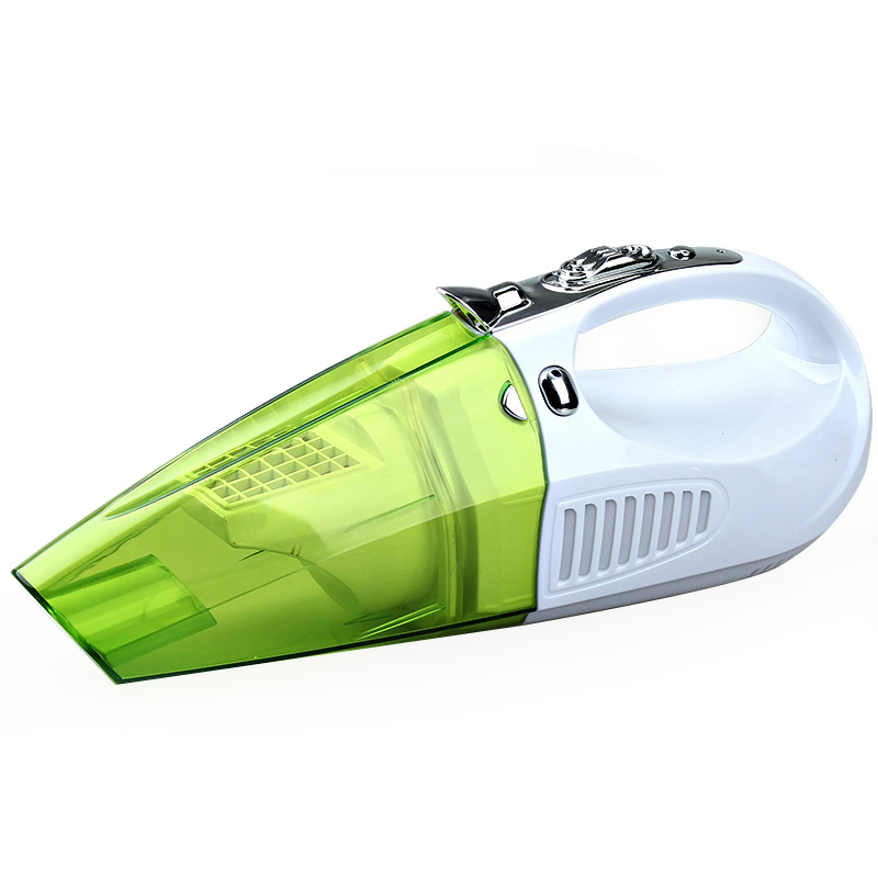 Car high-power 100W two-in-one wet and dry use Haipao network car vacuum cleaner lighting