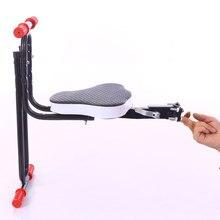 Безопасный Защиты Quick Release Передняя Дети Седло Горный Велосипед Электрический Складной Ребенок Безопасности Передних Сидений FZZ001