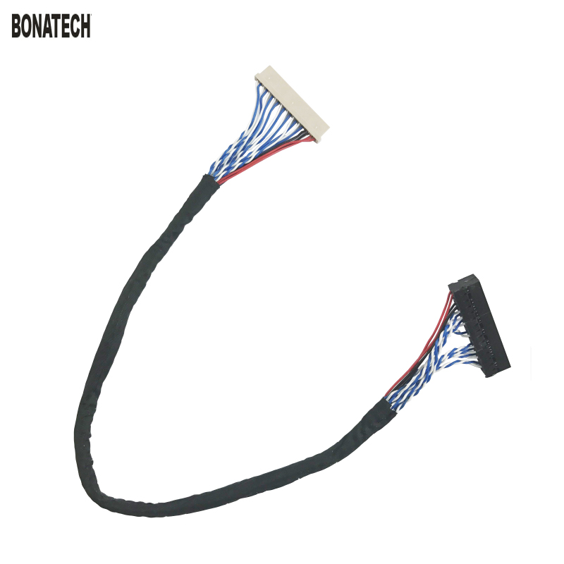 20pin Lvds Cable 20pin 2ch 6bit Screen Cable