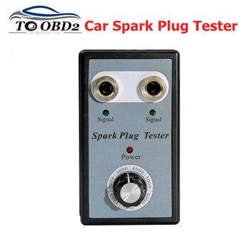Тестер свечей зажигания с двумя отверстиями для автомобиля, диагностический анализатор свечей зажигания для бензиновых автомобилей 12 В, де...